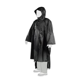 TT TAC PONCHO LARGE BLACK