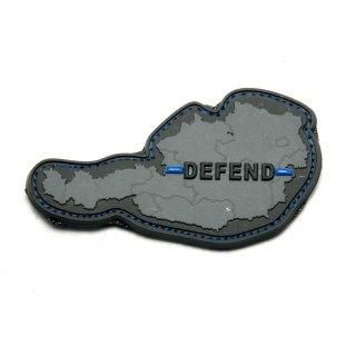 Patch - Austria Defend - Velcro black