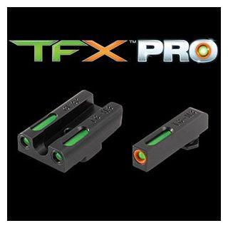 Truglo - TFX Pro Tritium/ Fiber Optic Glock 17 / 17Ö, 19,22,23,24,26,27,33,34,35,38,39