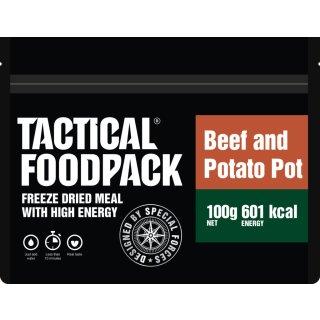 Tactical Food Pack Rindfleisch-Kartoffeltopf [Energie: 601 kcal]