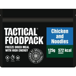Tactical Food Pack Nudelgericht mit Hähnchen [Energie: 572 kcal]