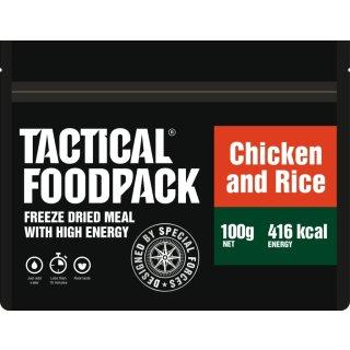 Tactical Food Pack Reisgericht mit Hähnchen [Energie: 416 kcal]