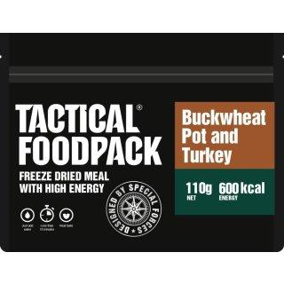 Tactical Food Pack Buchweizen mit Putenfleisch [Energie: 600 kcal)