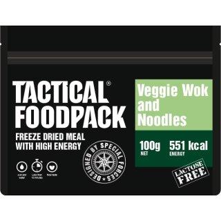 Tactical Food Pack Wokgemüse mit Nudeln [Energie: 551 kcal]