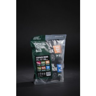 Tactical Food Pack Tactical Six Pack Bravo [Energie: 3127 kcal]