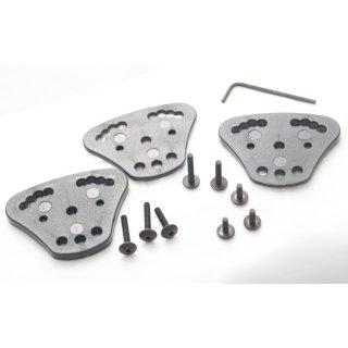 Radar Spacer Kit in 3 Stärken mit variabler Neigung für Schlaufen - Multilink & 3x120 °