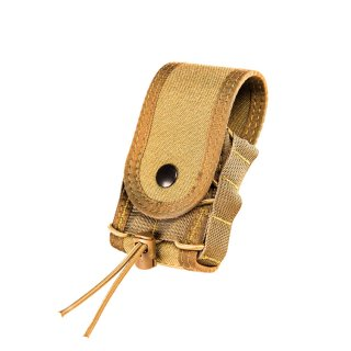 HSGI: Handcuff TACO Covered MOLLE Coyote Brown