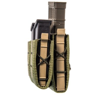 HSGI: Duty Staggered Double Pistol TACO w/Rifle U-MOUNT Olive Drab