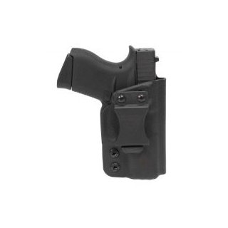 DSG CDC IWB Holster Glock 43/43X mit Streamlight TLR6 - black RECHTS