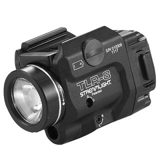 Streamlight TLR-8 Compact Gun Laser/Light (500lm red Laser) Low Profile Tactical light/Laser For Full Size & Compact railed handguns
