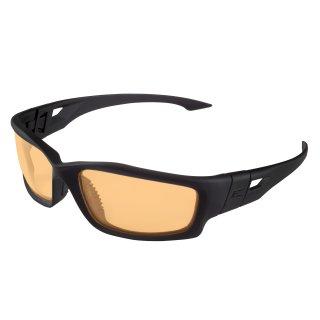 Edge Tatical Blade Runner Matte Black-Tigers Eye Vapor Shield Anti-Fog
