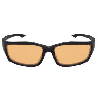 Edge Tatical Blade Runner XL Matte Black-Tigers Eye Vapor Shield Anti-Fog