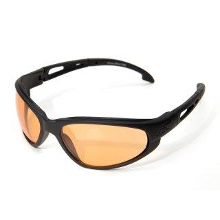 Edge Tatical Falcon Matte Black-Tigers Eye Vapor Shield Anti-Fog