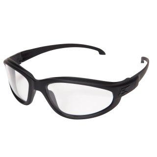 Edge Tatical Falcon Thin Temple Matte Black-Clear Vapor Shield Anti-Fog