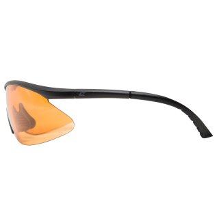 Edge Tatical Fastlink Matte Black-Tigers Eye Vapor Shield Anti-Fog