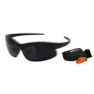Edge Tatical Sharp Edge 2 Kit Matte Black-Tigers Eye, G-15 Vapor Shield Anti-Fog