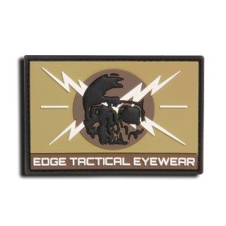 "Edge Tatical Tactical 2"" x 3"" Vinyl Patch-Skull"