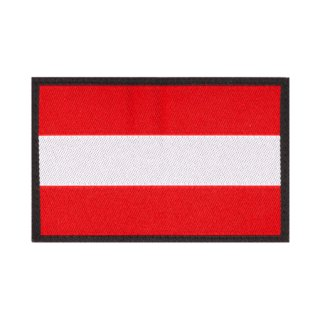 Austria Flag Patch Color