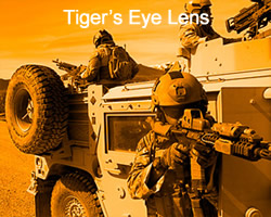 without tiger's eye lens